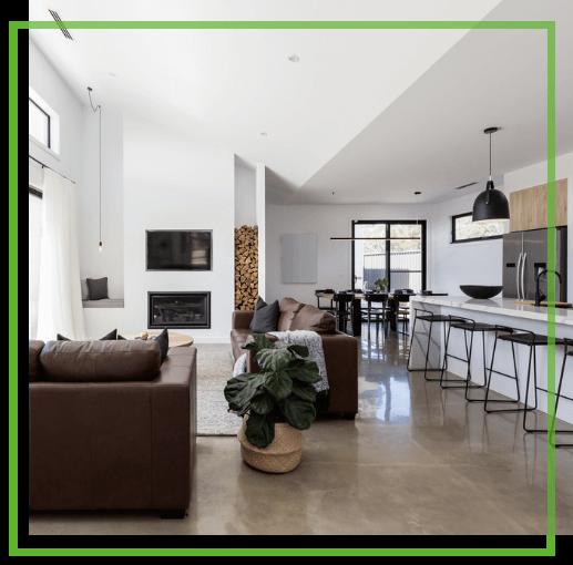 Concrete flooring